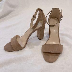 Nude Pair of High Heels
